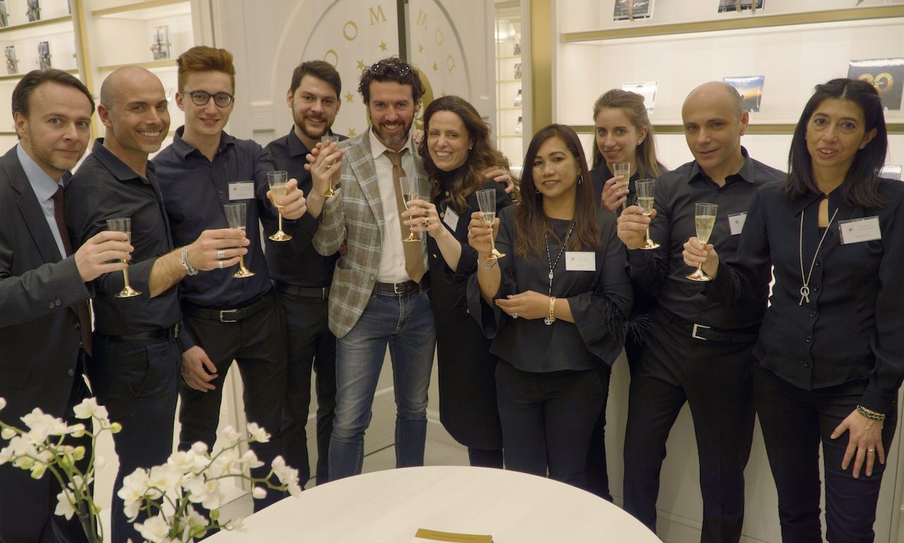 Inaugurazione Luxury Boutique Firenze - il team